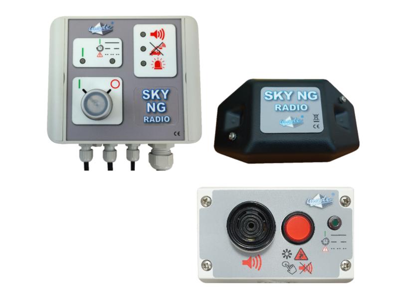 SKY NG RADIO pour grue auxiliaire et mobile