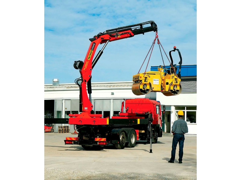 DETECT LINE NG for auxiliary loading crane