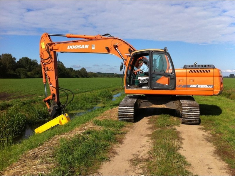 DETECT LINE NG for excavator