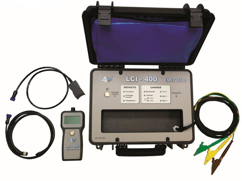LCI-400 -Identification de câbles et départs sur un réseau BT sous tension