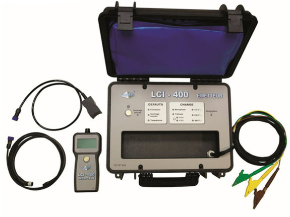 LCI-400 - Live LV low voltage energized cable identifier