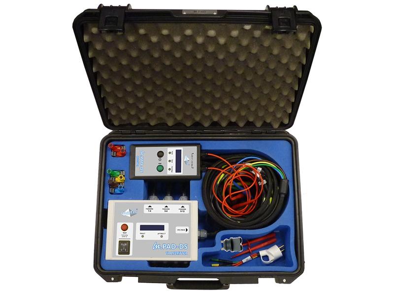 m.PAD-DS - phase & feeder identifier
