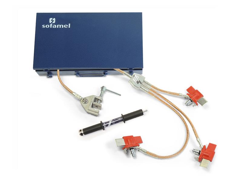 Mod. ECBT-NH - équipement mise à la terre pour tableau électrique BT