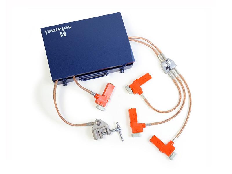 Mod. ECBT-PTA4 - équipement mise à la terre pour tableau électrique BT