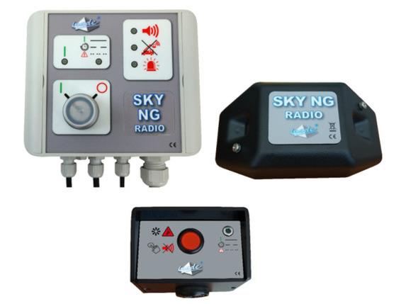 SKY NG RADIO pour chariot télescopique