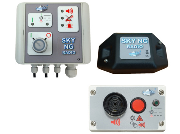 SKY NG RADIO pour grue auxiliaire et mobile