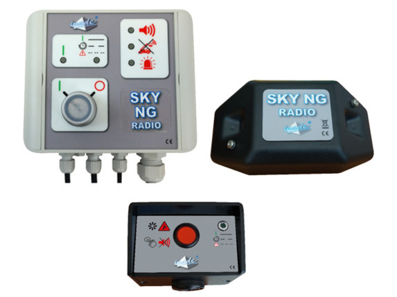 SKY NG RADIO pour pelle