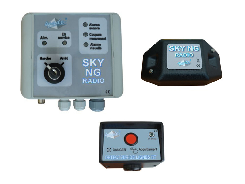 SKY NG RADIO for excavator