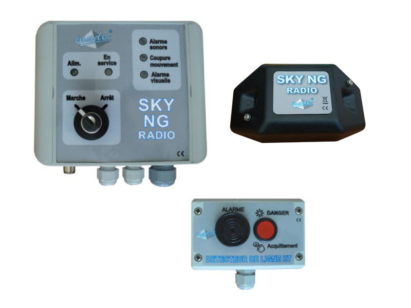 SKY NG RADIO for basket > 16 m