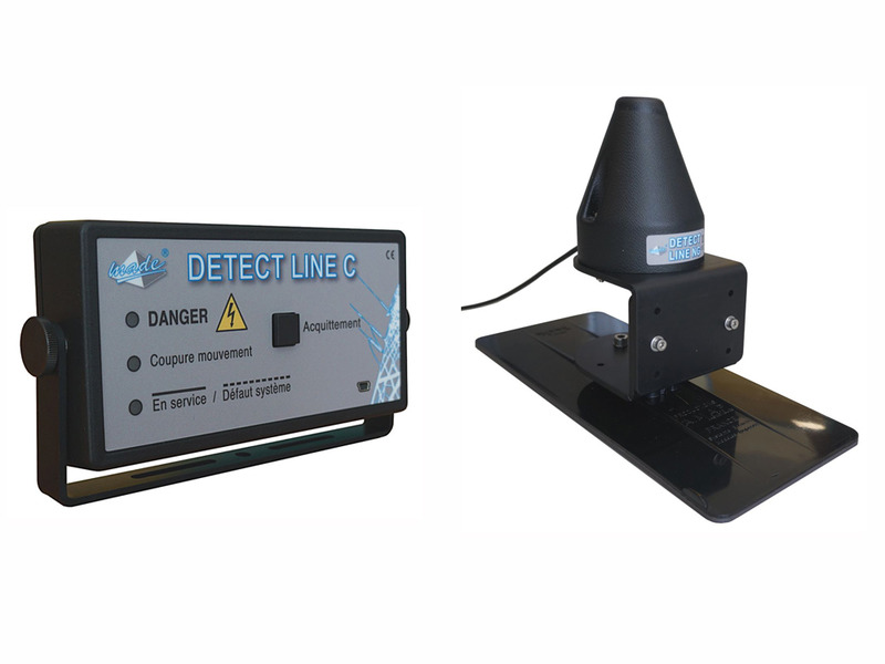 DETECT LINE NG Compact for dumpster